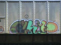 CHIP7 (BLACK VOMIT) Tags: train graffiti ol south dirty richmond dos va chip mayhem freight chp7