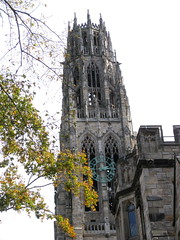 Harkness-Tower-at-Yale-2 (mbgmbg) Tags: unitedstates spires connecticut places newhaven yale harknesstower kw2flickr kwgooglewebalbum takenbymarkgerstein kwpotppt kwphotostream4 yalebuildings