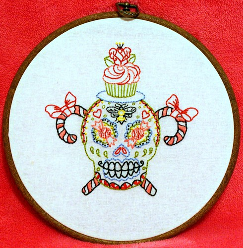 Super sweet sugar skull