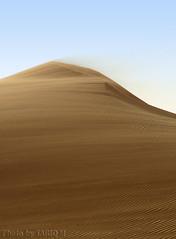 Blowing sand- Explore (TARIQ-M) Tags: texture landscape sand waves desert ripple dunes ripples riyadh saudiarabia hdr app      canonef70200mmf4lusm   canon400d      sandflows  sandblowing  tariqm   tariqalmutlaq kingofdesert