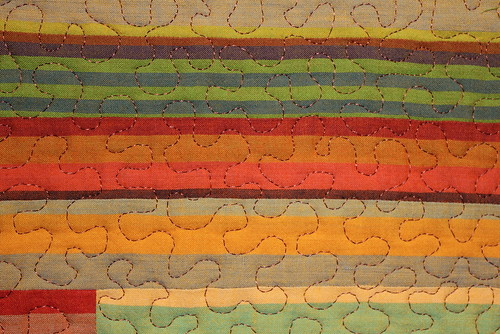 Sunset Quilt Close Up