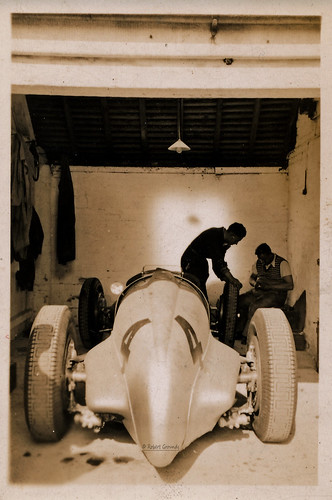 Mercedes Benz W125 - Richard Seaman - dnf Donington GP 2 Oct 1937