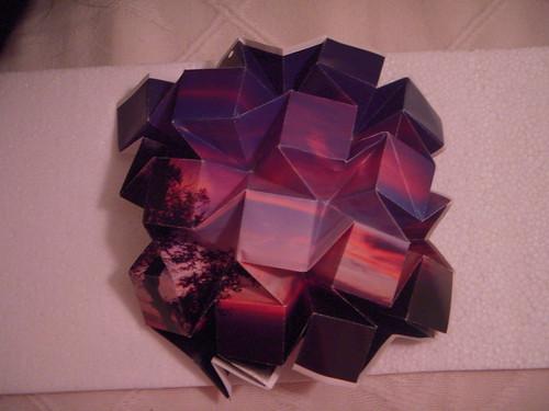 Origami #11: Water Bomb Tessellation