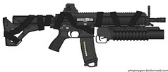 HK416 Grenadier w. Strap (RiFt97) Tags: strap commando pmg blackops grenadier hk416 pimpmygun customhk416