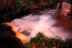 Waterfall Blur 2 (g crawford) Tags: longexposure blur river scotland stream january taken scottish glen timeexposure burn 16 crawford scots ayrshire 2011 westkilbride kirktonhall kirktonhallglen