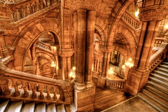 Great Western Staircase (95wombat) Tags: new york state capitol hdr greatwesternstaircase milliondollarstaircase