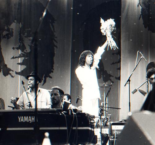 Show Rei Pelé, Maceió, em 1984