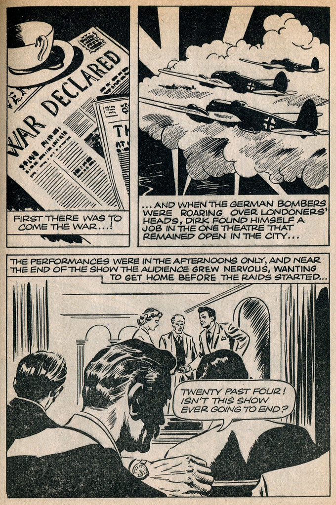 Dirk Bogarde comic 6