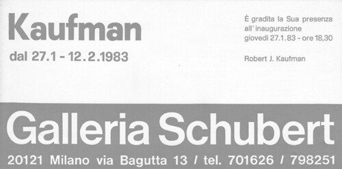 kaufman 83 B