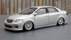 1/43 scale Toyota Corolla Altis (Jose Michael S. Herbosa) Tags: lowered toyotacorollaaltistrd