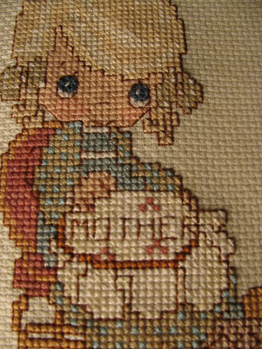 Mother in Cross Stitch