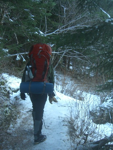 Along the Icy, Snowy, Impassable Trail We Go!
