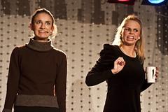 Lena Von Hirsch og Karoline Wallestad fra Ullernrevyen