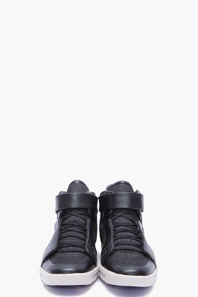 Y-3 // moto high sneakers  $320