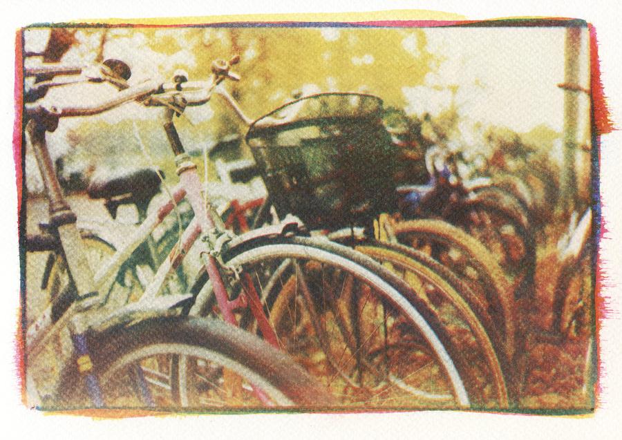 3-Color gum print/трёхцветная гуммипигментная печать, первые результаты