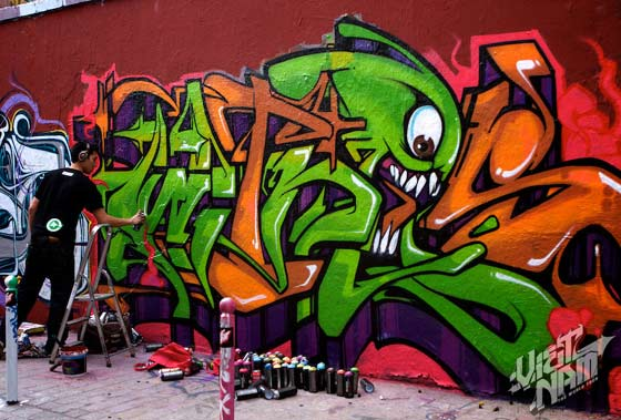 graffitis del mac