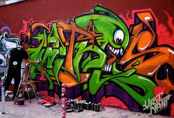 graffitis del mac