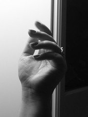 on the other hand (Nicolas Fourny photographie) Tags: blackandwhite bw woman girl hands women hand noiretblanc blackandwhitephotography blackwhitephotos beautifulhand sexyhand