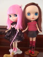 Bella e sua nova irmãzinha....