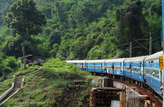 Beautiful KK section (Anindya Roy Photography) Tags: india indianrailways andhrapradesh visakhapatnam irfca 23302 vskp tyada wag5 kirandul