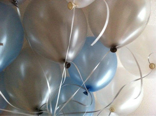 Heliumballonnen 1e verjaardag Hekelingen