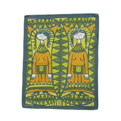 Vintage Scandinavian tea towel (Wooden donkey) Tags: vintage tea towel teatowel