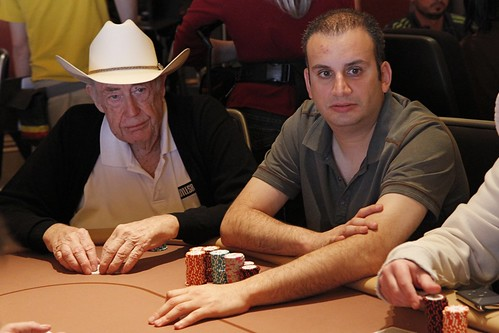 9078 Doyle Brunson and Abe Mosseri