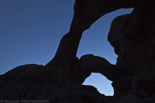 Twilight at Double Arch