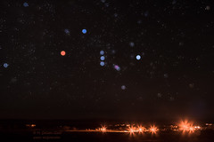 In and Out of Focus (inlightful) Tags: sky night stars constellation outoffocus oof starcolors orion astronomy astrophotography starrynight nightsky outdoors southwest newmexico socorrocounty