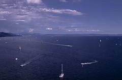 Scie (Luana_58) Tags: trieste cielo mare acqua vele barca viaggio