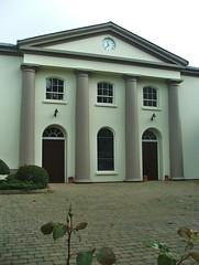 Donaghadee- High Street- First Presbyterian Church c.1830- DSCF8355 (Cairlinn) Tags: church classical highstreet donaghadee firstpresbyterianchurch presbyterianchurch