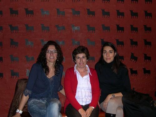 Mónica, M.Carmen y Alicia