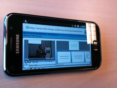 Echo360 op Galaxy S