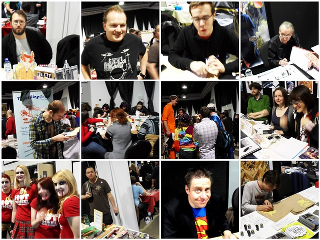 Thought Bubble 2010 people mosaic