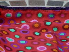 Detail of the lining (crochetbug13) Tags: crochet cascade220 fatbag samantasfatbag