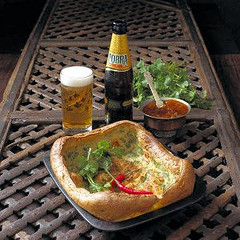 Cobra beer yorkshire pudding