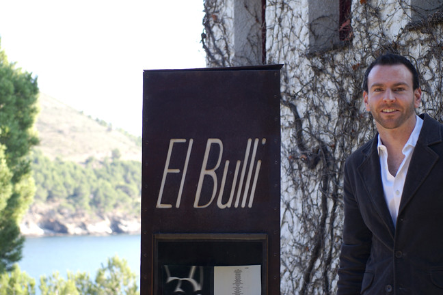 Gareth at El Bulli Restaurant Roses Spain