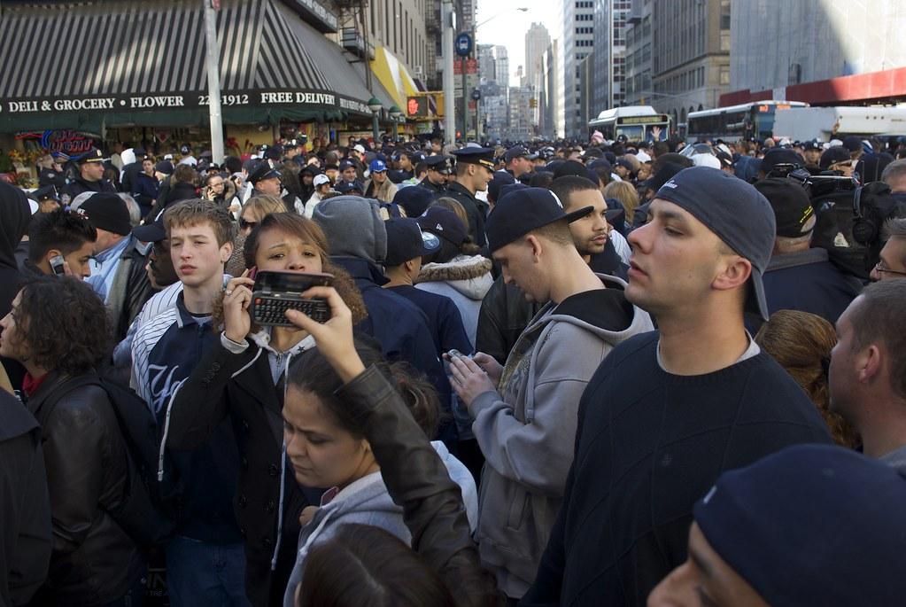 過期一年之紐約洋基封王遊行