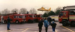 HEMS and LFB at a display in the 90s (NW54 LONDON) Tags: hp pump dodge erf hems londonfirebrigade lfb ghems shelvoke