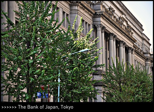 [ Monetary Policies ] The Bank of Japan @ Nihonbashi, Tokyo