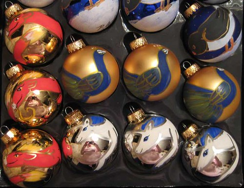 Handpainted Christmas Ornaments 5