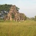 Ruins in the field, Banteay Chhmar, Cambodia