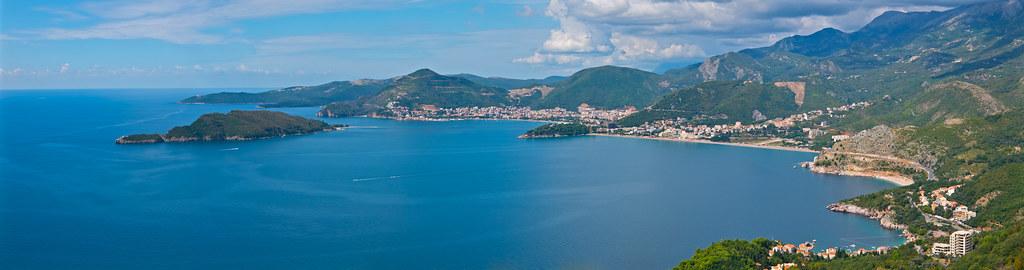 Montenegro coastline near Budva