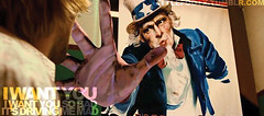 i want you (ashley baby `) Tags: thebeatles unclesam acrosstheuniverse joeanderson