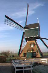 Bonrepasmolen met waterloop - anaglyph (Quistnix!) Tags: windmill moulin 3d anaglyph molen windmolen windmhle molinodeviento moinhodevento vlist moulinvent wipmolen bonrepasmolen