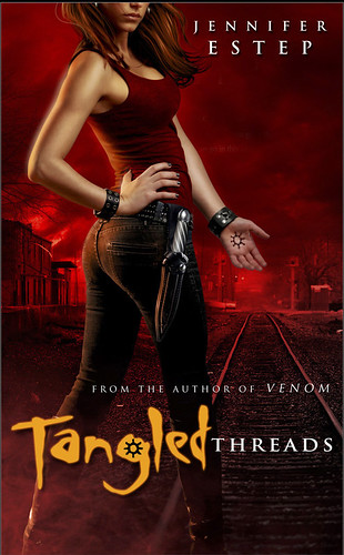 April 26th 2011 by Pocket    Tangled Threads (Elemental Assassin, #4) by Jennifer Estep
