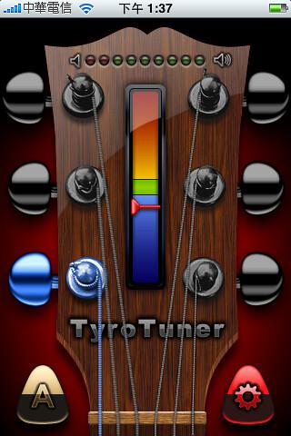 iPhone 吉他調音器