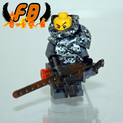 Creations for Charity - Weird War Spetsnaz Heavy Gunner
