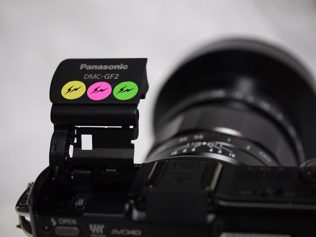 Nokton 25mm F0.95 + GF2