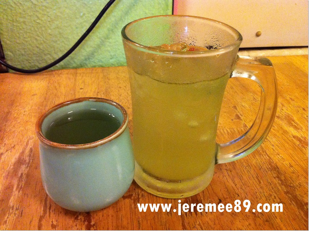 Matsuki Japanese Restaurant - Hot & Cold Green Tea